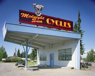 Midnite Sun Cycles, Fairbanks, Alaska